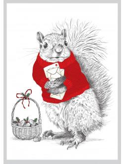 AMV216 Kalėdinė voverytė