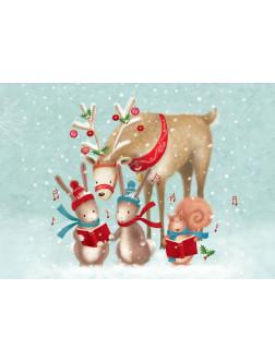 AM296 Kalėdinis atvirukas