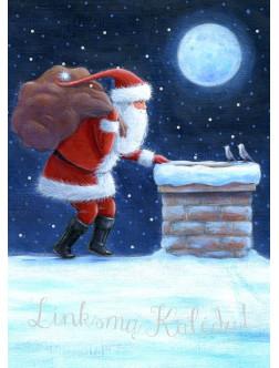 AM293 Kalėdinis atvirukas