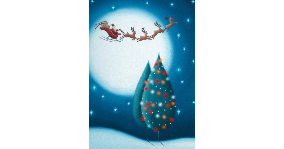 AM294 Kalėdinis atvirukas