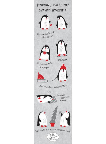 Skirtukas knygai Pingvinų įkvėpimai
