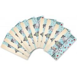 MUK.140 Mažų užrašų kortelių rinkinukas