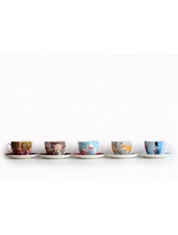 Kapučino kavos puodelis Meškio patarimai
