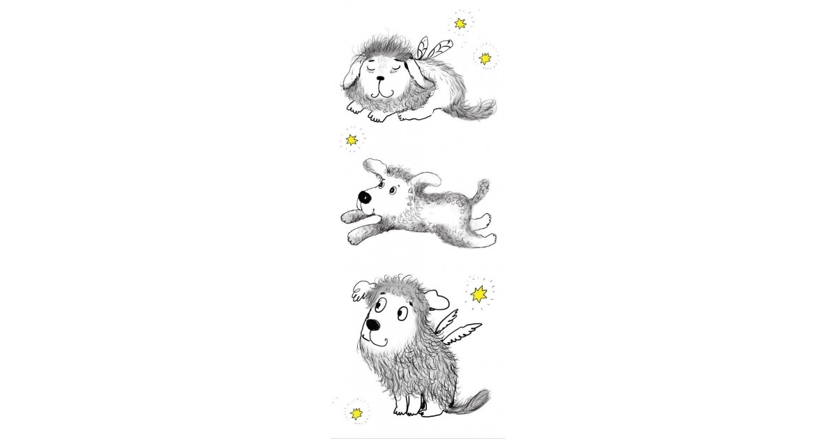 Skirtukas knygai Trys šuniukai