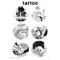 T27. Laikinos tatuiruotės su Edgaro Strauko piešiniais