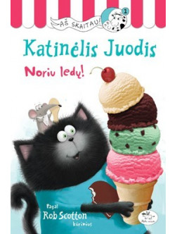 Katinėlis Juodis. Noriu ledų!