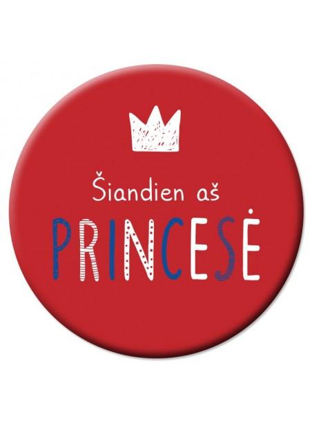VD24 Veidrodėlis Šiandien aš princesė
