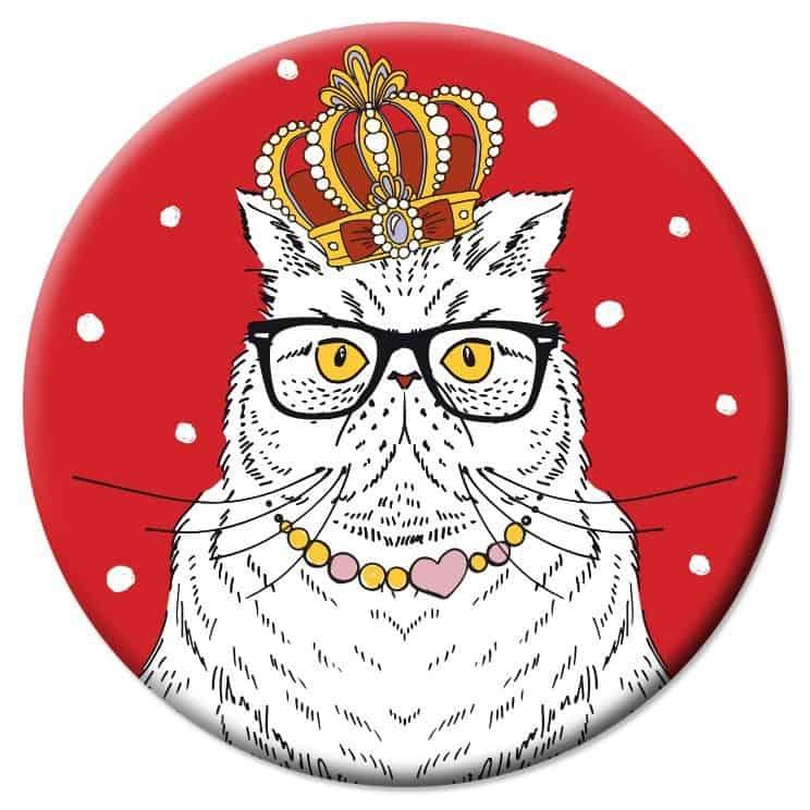 VD42 Veidrodėlis Labai karališka katė