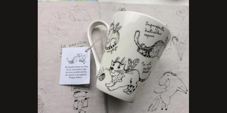 Nauja porceliano puodelių kolekcija!