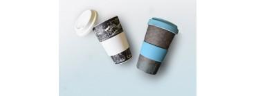 NAUJIENA! Bambuko pluošto puodeliai išsinešti