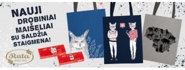 Nauji drobiniai maišeliai ir saldi dovana!