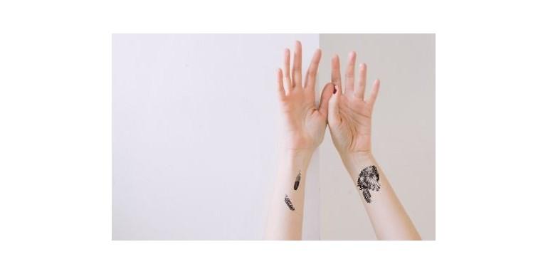NAUJOS laikinos tatuiruotės