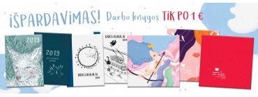 Darbo knygos tik po 1 €