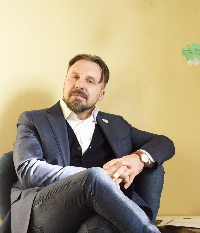 Leidyklos vadovas Arvydas Vereckis