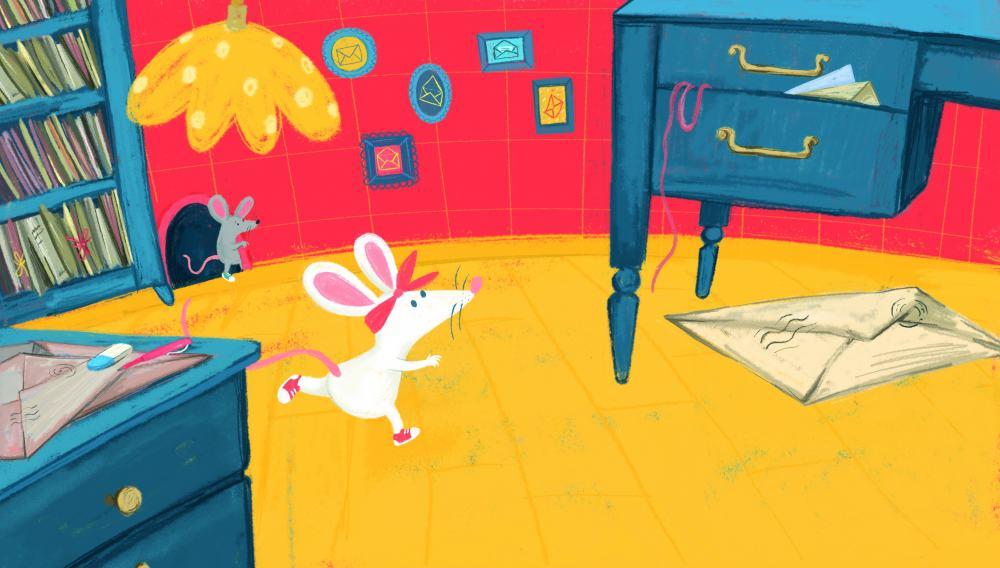 """Knygos vaikams """"Emilio laiškas"""" autorė I. Zarambaitė: """"Popierinis laiškas visuomet turės savų pranašumų"""""""