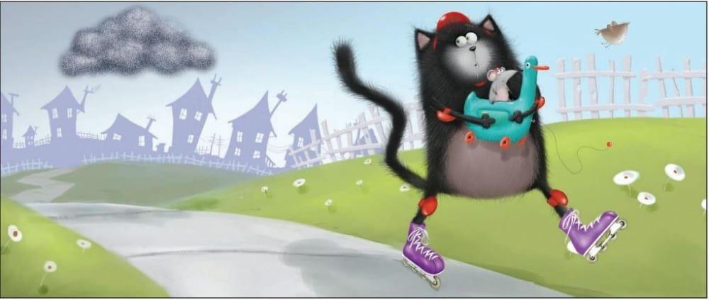 Testas. Kuri katinėlio Juodžio knyga geriausiai atspindi tavo asmenybę?