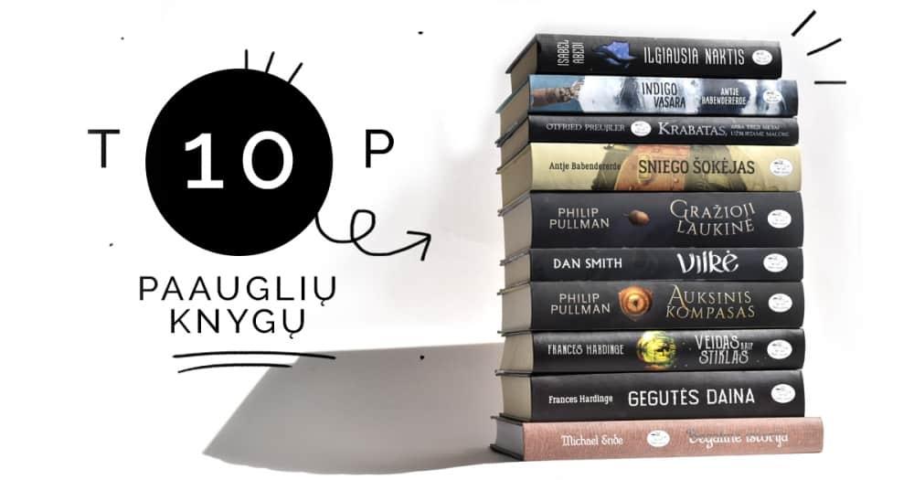 TOP 10 knygų paauglių vasarai